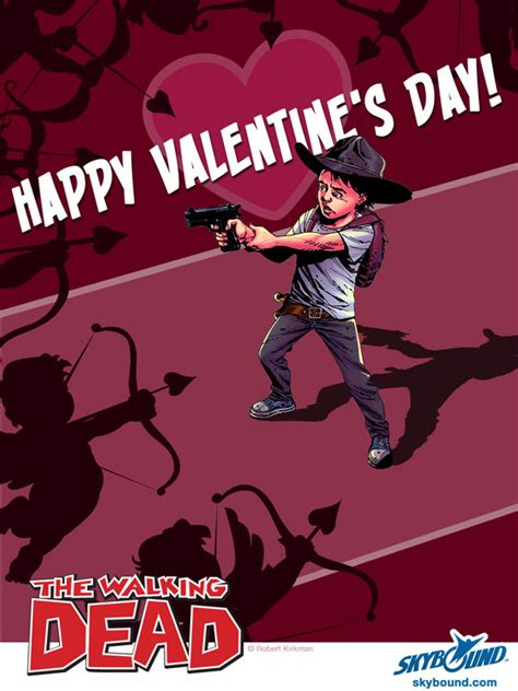 the walking dead valentines cards walking dead 1 daily dead