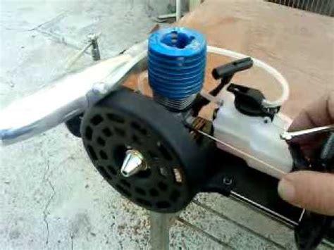 nitro testi nitro engine test