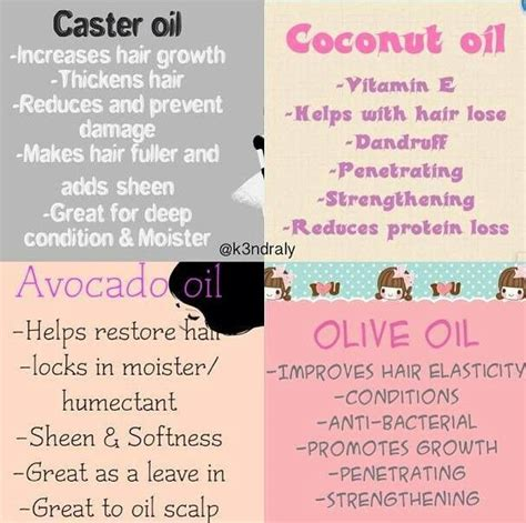 What Type Of Olive Is Best For Hair by Info Castor Coconut Avocado Olive