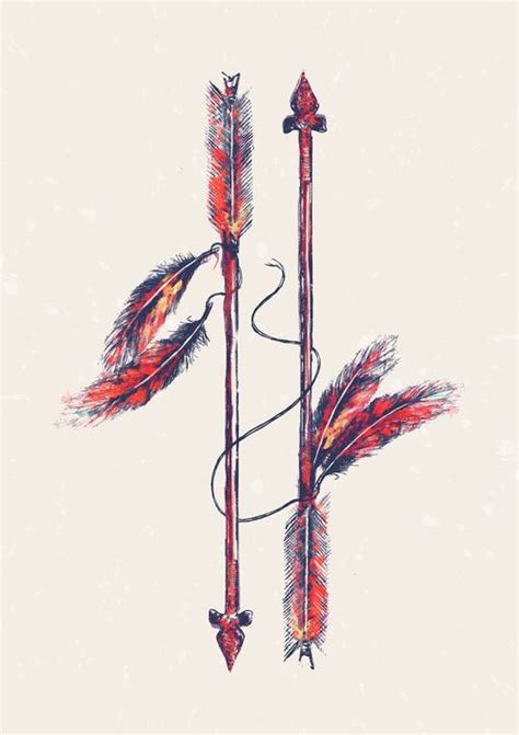 arrow and feather tattoo indian arrow future tattoos beautiful