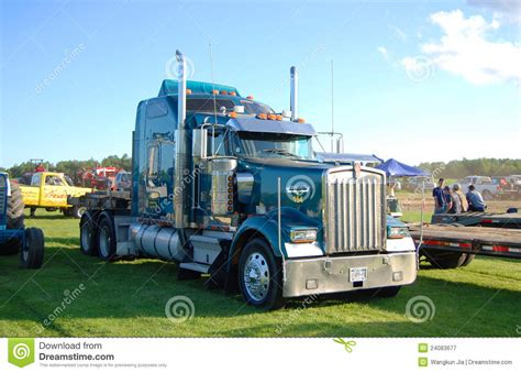 kenwood w900 kenworth w900 truck editorial photography image of
