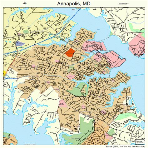 maryland map annapolis annapolis maryland map 2401600