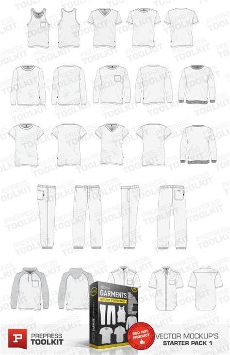 Tshirt Vector Big Breads ultimate vector garment mockup kit