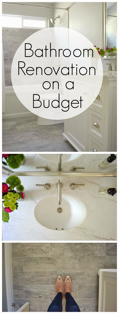budget bathroom renovations testers how to renovate a bathroom on a budget