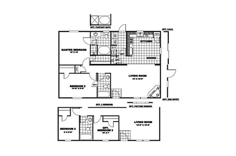 manufactured home floor plan 2010 clayton worthington