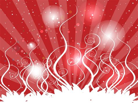 backdrop design christmas party red streamer vector