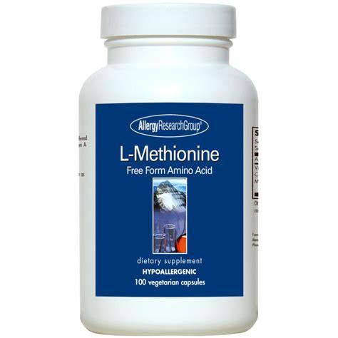 Glutamine Liver Detox by Allergy Research L Methionine Liver Detox Supplement