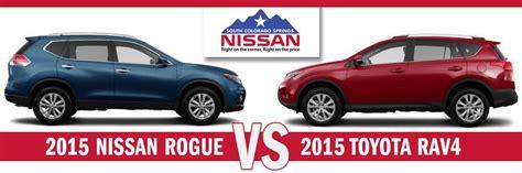 Toyota Rogue Nissan Rogue Vs Toyota Rav4 Suv Comparison
