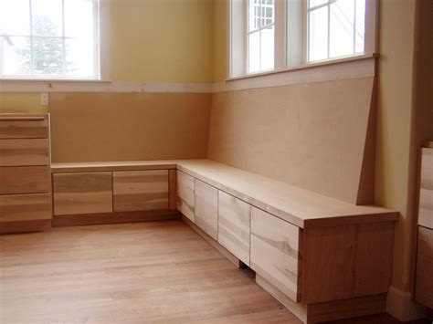 corner seating  storage area chandler building company