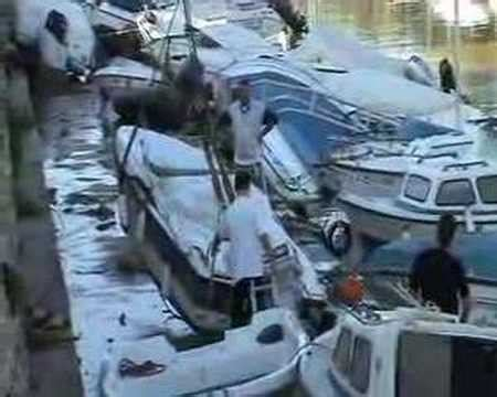boat license javea javea boats after the bad weather 2007 youtube