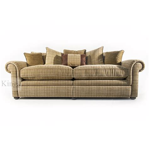 Upholstery Fabric Sofa by Wade Upholstery Barnaby Small Sofa Leather And Fabric