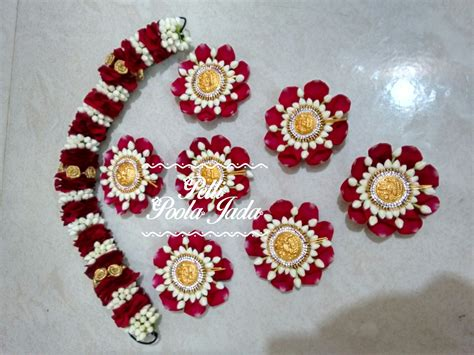 Indian Wedding Home Decoration Jada Billas And Pulajeda Pelli Poola Jada