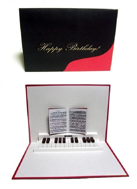 Grand Piano Pop Up Card Free Template by 45 Best Images About Piano Cards On