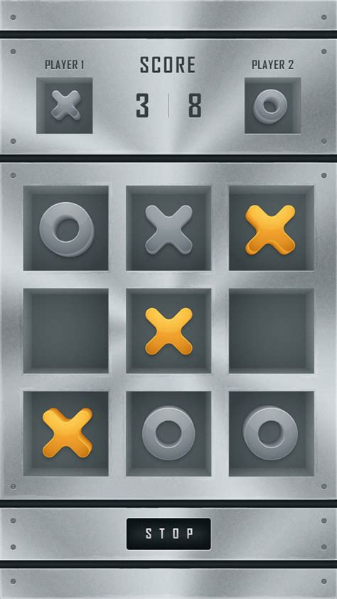app design tutorial illustrator create a tic tac toe mobile app interface in adobe illustrator