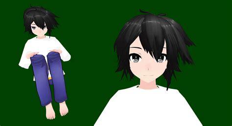 mmd tda male model mmd l lawliet tda model by durararaking on deviantart