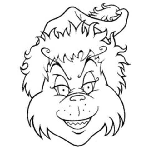 printable grinch face mask the grinch coloring face mask coloring pages