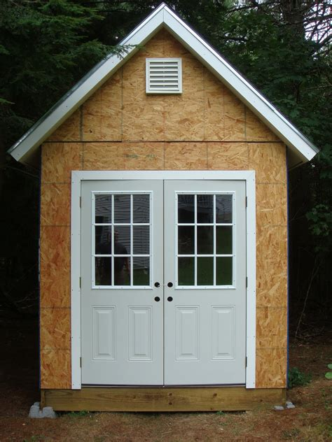 Shed Door Designs diy building shed door design tips cool shed design