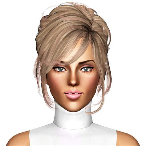 1800s hairstyles for sims 3 the sims 3 newsea s crescent hairstyle retextured by july kapo