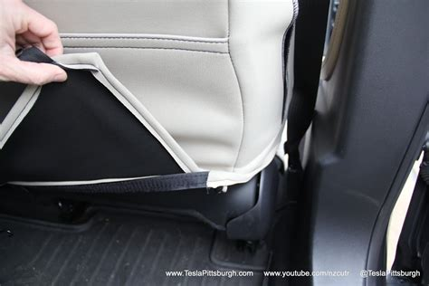 Tesla Material Model S Front Seat Covers Review Outerwear For Your Inner