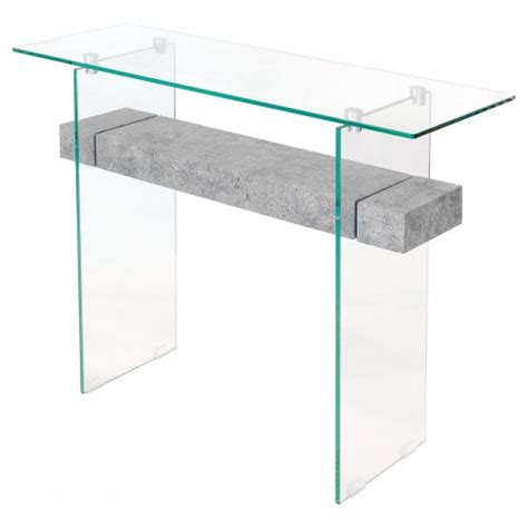 glass console table with shelf glass console table with marble shelf