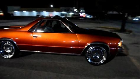 el camino club kandy tangerine el camino on 24 s asanti car club