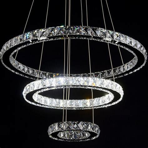 Diamond Ring Led K9 Crystal Chandelier Chandeliers Led