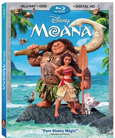 moana on boat song disney s moana charts course to disc and digital