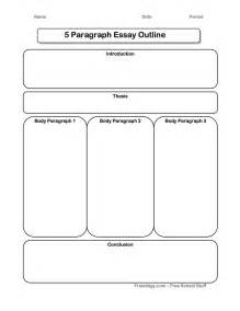 Essay Graphic Organizer Template by Great 5 Paragraph Expository Essay Graphic Organizer I