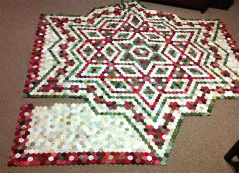 Hexagon Patchwork Blanket - 185 best images about paper piecing on
