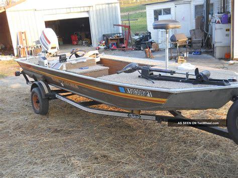 boat fuel catcher 1985 smoker craft bass catcher