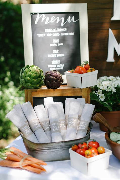 party menu planning  easy evite