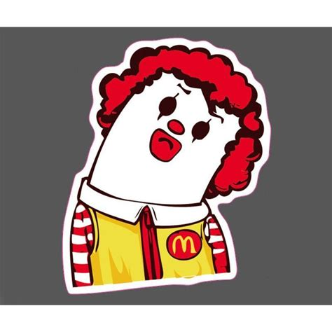 Mcdonalds Stickers