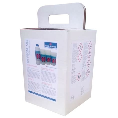 pulizia vasca idromassaggio kit mix valigetta pulizia acqua vasche spa piccole