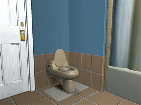 tan and blue bathroom mod the sims blue and tan bathroom set