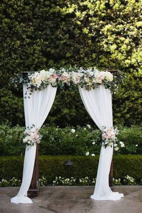 Wedding Arch Backdrop Ideas by 20 Prettiest Floral Wedding Arch Decoration Ideas Oh