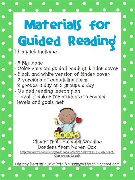 Buzzing With Ms B Stuff - buzzing with ms b guided reading is my favorite