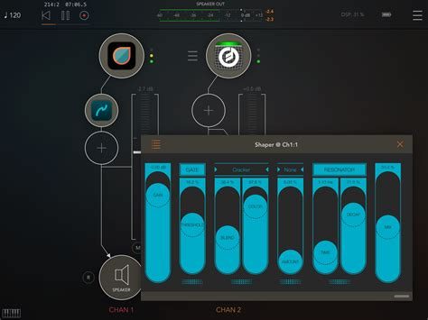 format audio ios shaper multi fx audio processor for ios now available