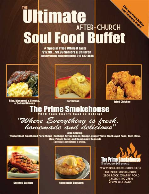 The Ultimate After Church Soul Food Buffet At The Prime Soul Food Buffets