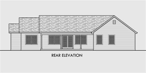 Split Level Ranch House Plans Single Level House Plans One Story House Plans Great