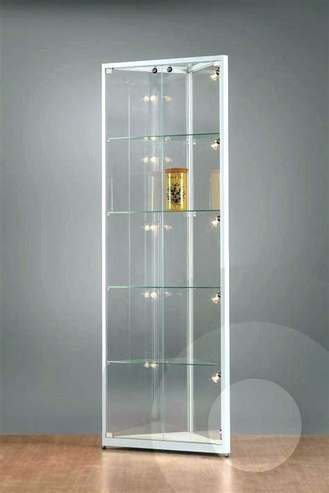 white corner display cabinet corner display cabinet glass white glass display cabinet