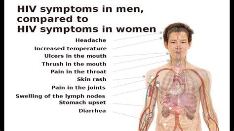 early hiv aids symptoms ehow hiv symptoms in men youtube