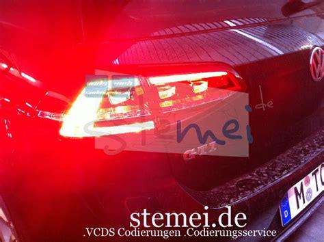 Golf 7 Led Rücklicht Codierungen by Stemei De Fahrzeugcodierungen Codierungsservice