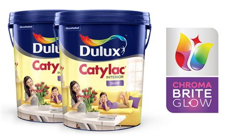 Cat Catylac dulux catylac interior glow cat warna interior dan
