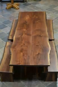 Wood Slab Table Tops 25 Best Ideas About Wood Slab Table On Slab