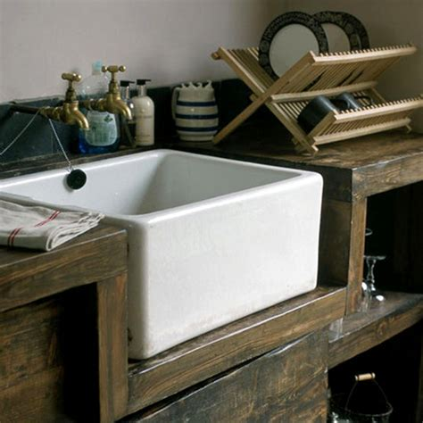 Rustic Dining The Style Files Rustic Kitchen Sinks