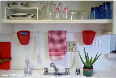 clever kitchen ideas open shelves hgtv 15 clever ways to add more kitchen storage space with open