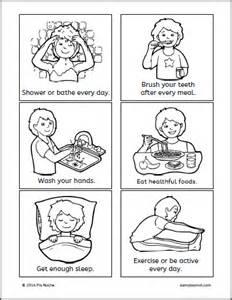Hand Washing For Kids Coloring Pages - pagpapahalaga sa katawan samut samot