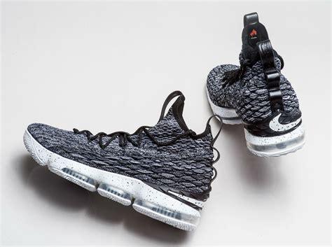 Nike Lebron 15 nike lebron 15 ashes black white white for sale hoop