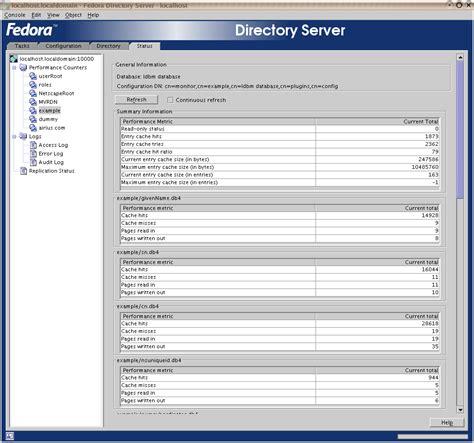 express directory 389 directory server screenshots