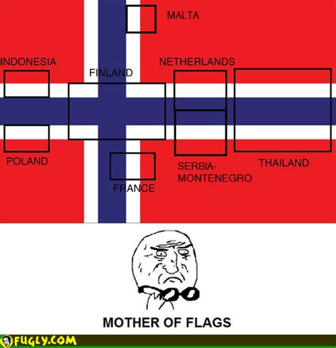 Color Blind Photos Mother Of All Flags Fugly